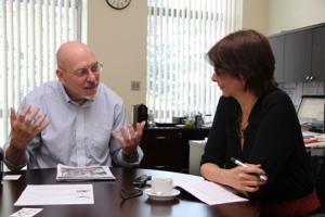 Claudia e John Matel 2014 entrevista