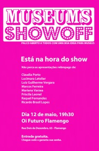 Cartaz Museums Showoff: Rio 2015