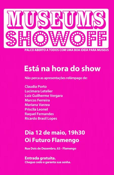 Cartaz Museums Showoff: Rio 2015