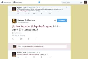 Twitter Casa Rui