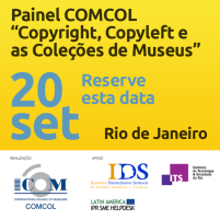 COMCOL panel on copyright, copyleft and museums' collections, 2016.