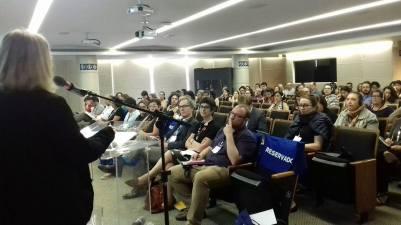 Opening of the 1st ICOM COMCOL-CIDOC seminar in Rio de Janeiro.